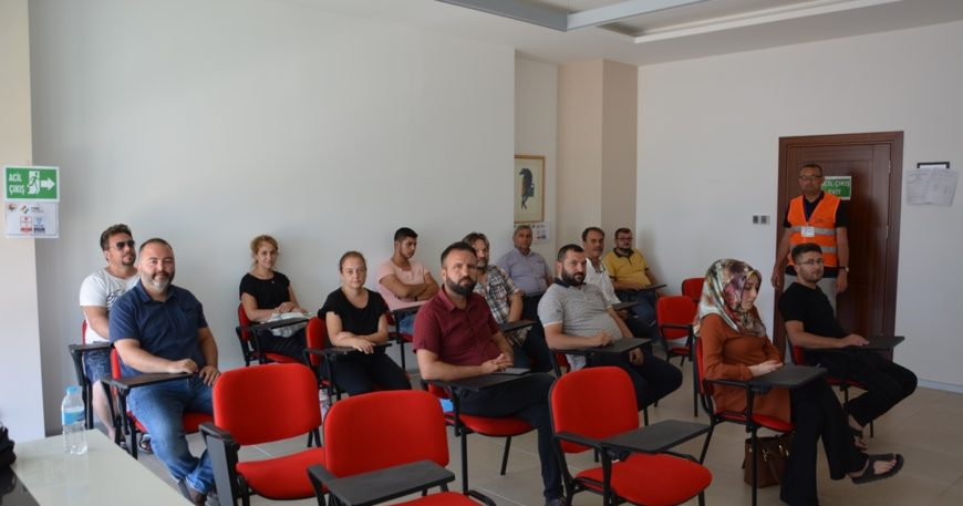 ÇTSO'da mesleki yeterlilik sınavı yapıldı