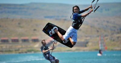 Sörfçülerin cenneti: Gökçeada
