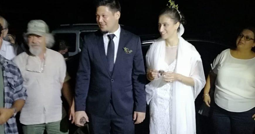 Düğünden çıktılar direnişe geldiler