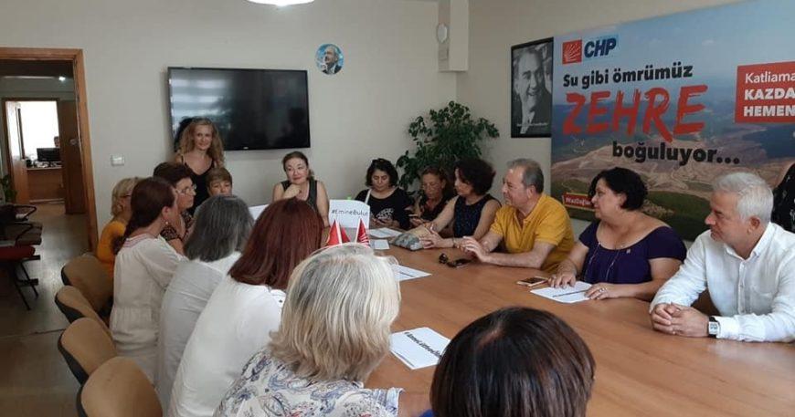 CHP'li kadınlar vahşete sessiz kalmadı