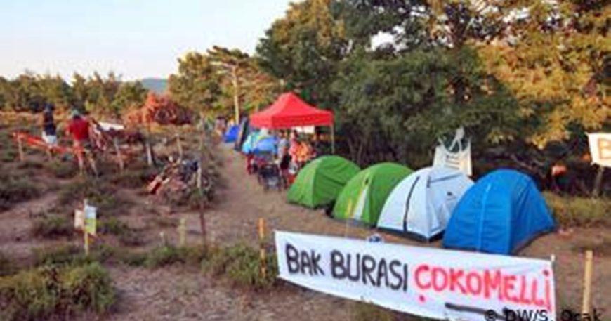 Kazdağları'nda çadırlı eylem sona erdi (VİDEO)