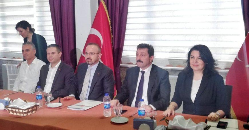 AK Partililer Gelibolu'da buluştu