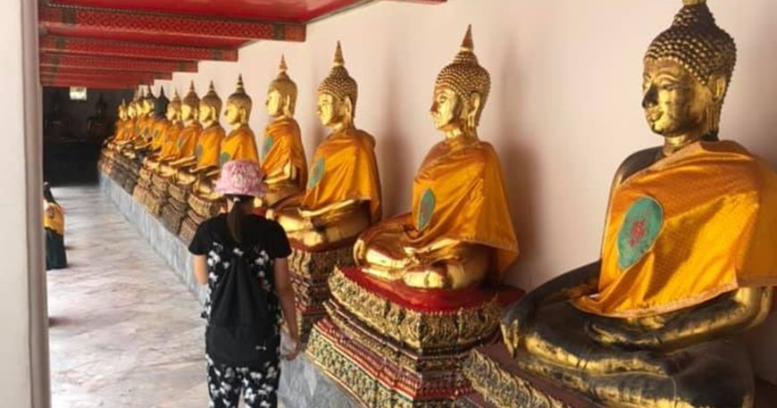 Tayland'a gittiler