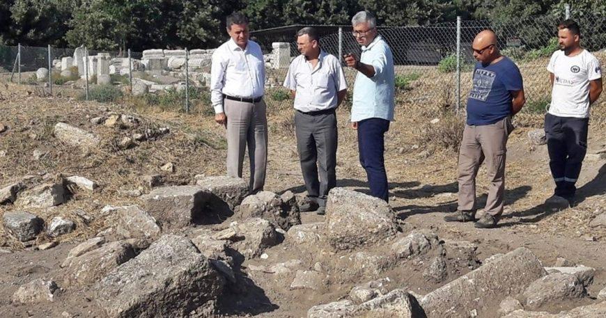 Troas Antik Kenti'nde çalışmalar devam ediyor
