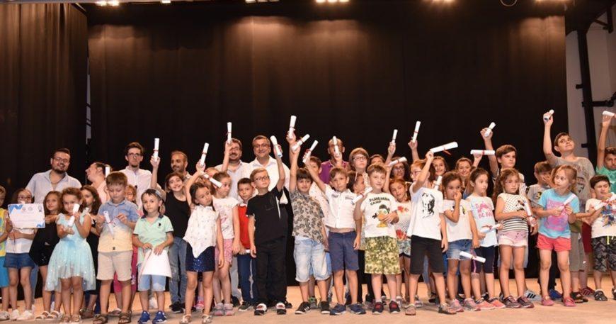 Çan'da çocuklara etkinlik