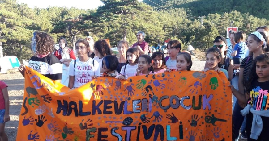 Kazdağları'nda çocuk festivali