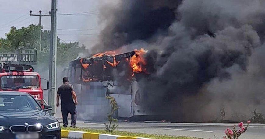 Küçükkuyu otobüsünde korkunç kaza: 5 ölü