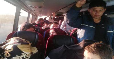 400 düzensiz göçmen yakalandı