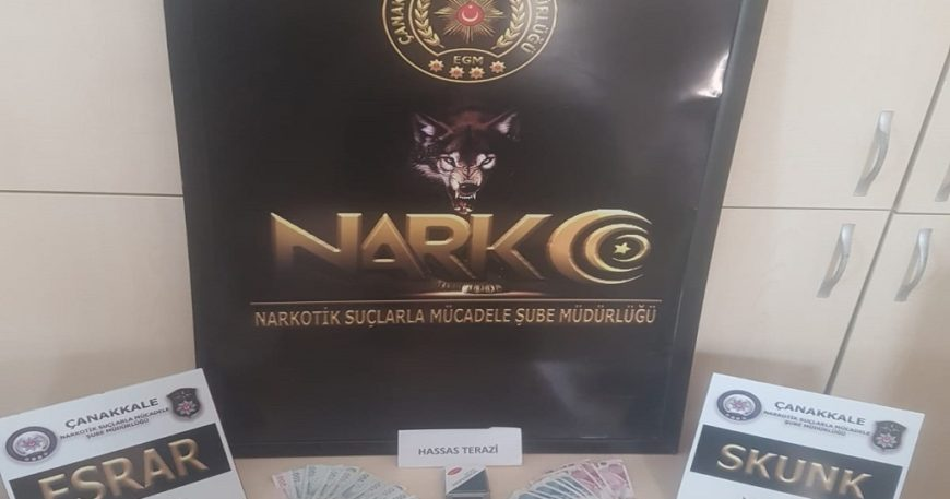 Narkotik'ten uyuşturucu operasyonu