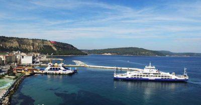 Eceabat'ta yaşayan öğrencilere feribot ücretsiz