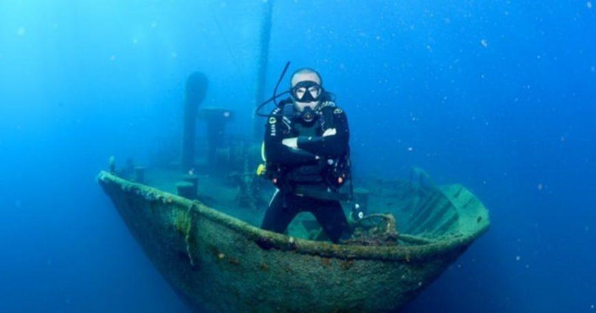 Dalış turizminin yeni gözdesi ''Çanakkale''