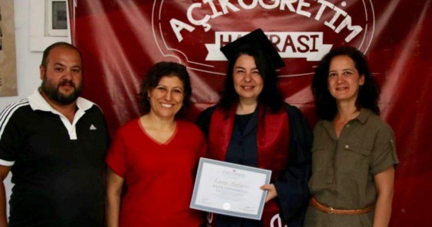 İskenderoğlu diplomayı aldı