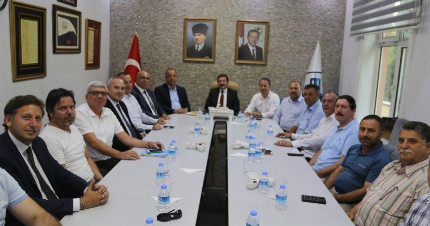 Tavlı STK temsilcileri ile buluştu