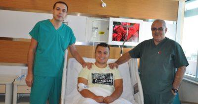 Devlet Hastanesi'nde bir ilk daha