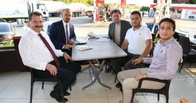 ÇARO, Turan ve Yılmaz ile istişarede
