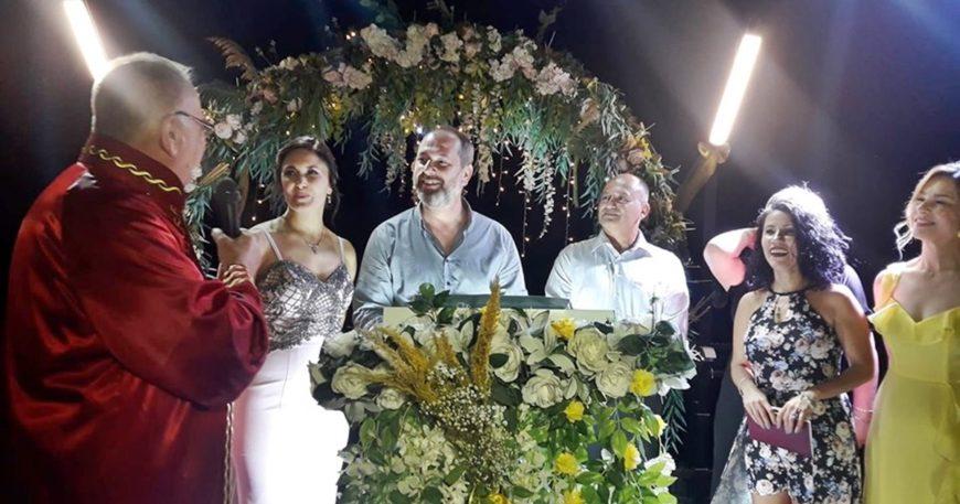 Başkan Gökhan nikah kıydı