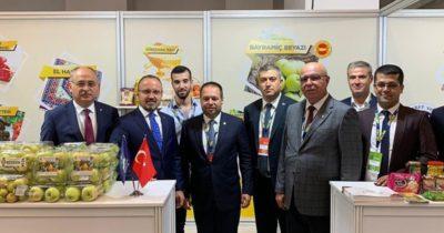 Çanakkale ürünleri Ankara'da sergileniyor