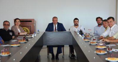 Meslek komite üyeleri toplandı