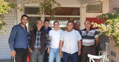 Özcan'dan Küçükkuyu esnafına ziyaret