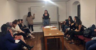 'Kadının İnsan Hakları  Eğitimi' devam ediyor