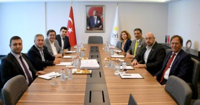 Millet İttifakı'nın iki partisi buluştu