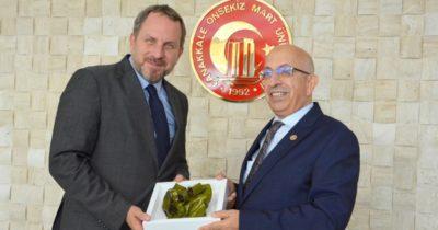 Okyay'dan Murat'a ziyaret
