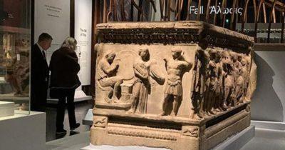 Çalınan eserlerle Londra'da Troya sergisi