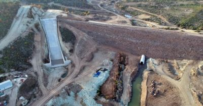 Altınzeybek-2 göleti su tutmaya hazır