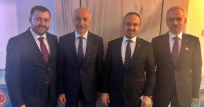 Muhtarlar ve Başkan Yüksel Ankara'da