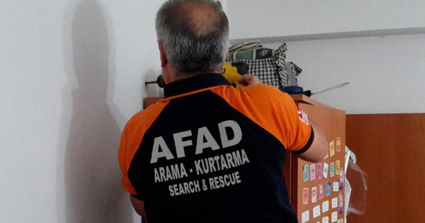"""AFAD'ta """"Bina Güvenliği"""" zamanı"""