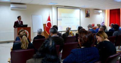ÇOMÜ'de İnsan Hakları konferansı