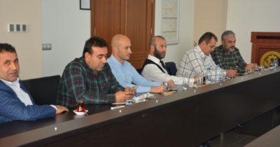 Yılın son komite başkanları toplantısı yapıldı