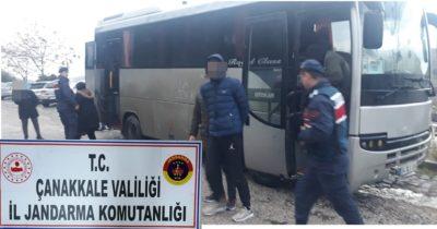 50 düzensiz göçmen yakalandı