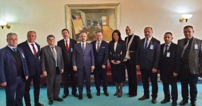 Başkanlardan vekillere ziyaret