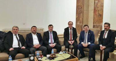 CHP'li başkanlar TBMM'de