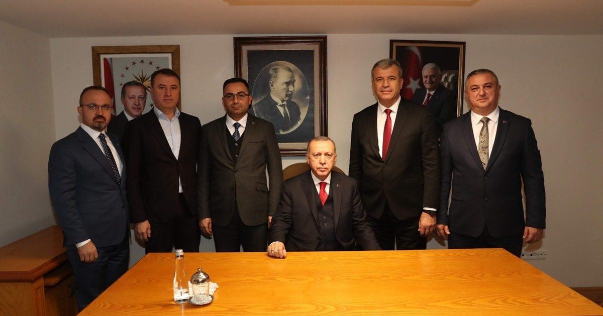 Turan başkanları Cumhurbaşkanı ile buluşturdu
