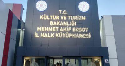 İl Halk Kütüphanesi açıldı