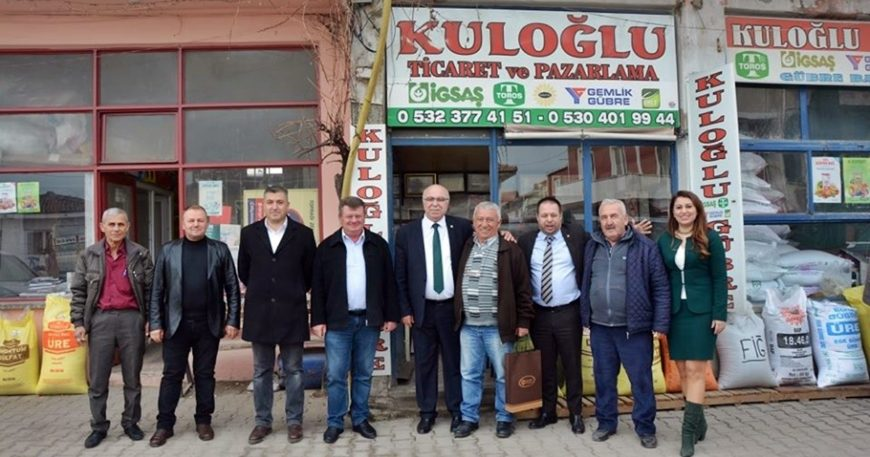 ÇTB'den Bayramiç üye ziyaretleri
