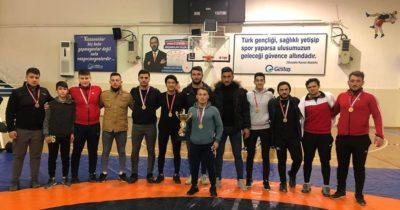 Çanlı güreşçiler Türkiye finallerinde