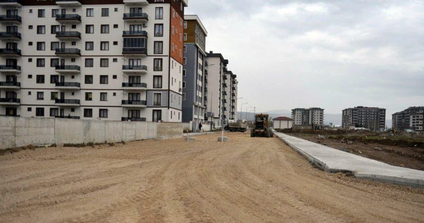 Yeni yerleşim bölgeleri gelişiyor