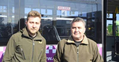 Baba ve oğuldan otobüslere korona icadı