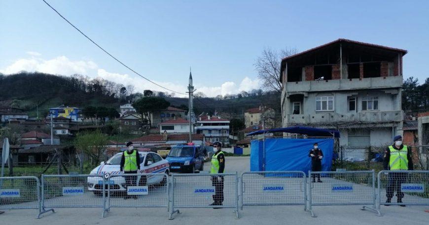 Maltepe Köyü'nde karantina sona eriyor