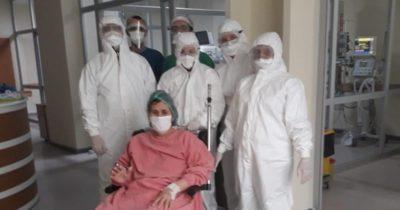 ÇOMÜ'den 4 hasta taburcu oldu!