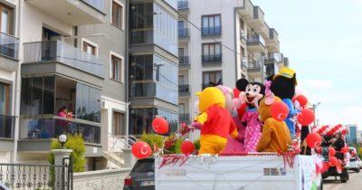 Kepez'de renkli görüntüler…(VİDEO)