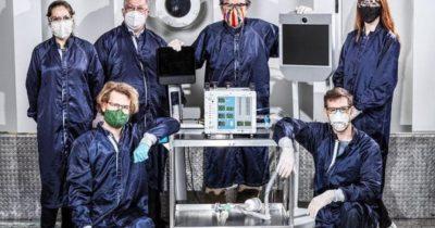 NASA solunum cihazı geliştirdi