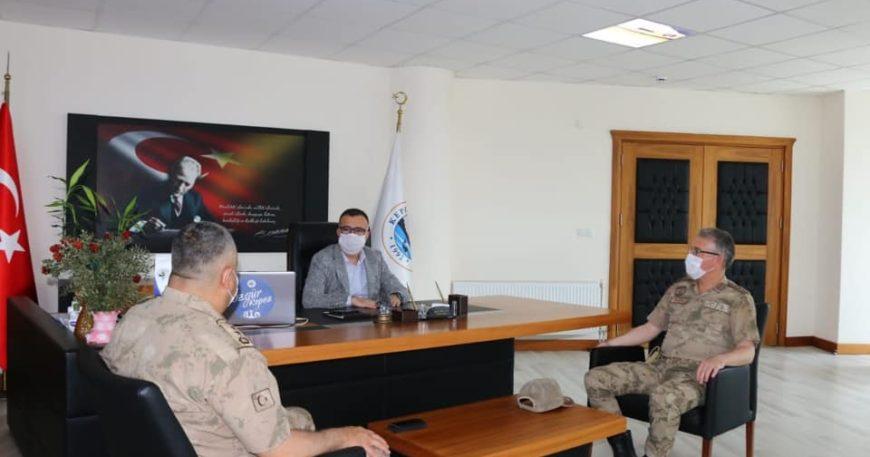 Başkan Arslan'a ziyaret