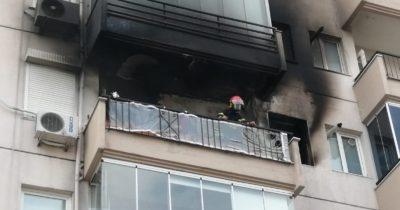 Yangın paniğe neden oldu (Videolu Haber)