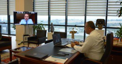 ÇTSO mayıs ayı toplantısı video konferans ile yapıldı