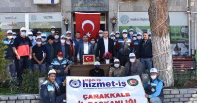 Geyikli'de belediye çalışanlarına rekor zam