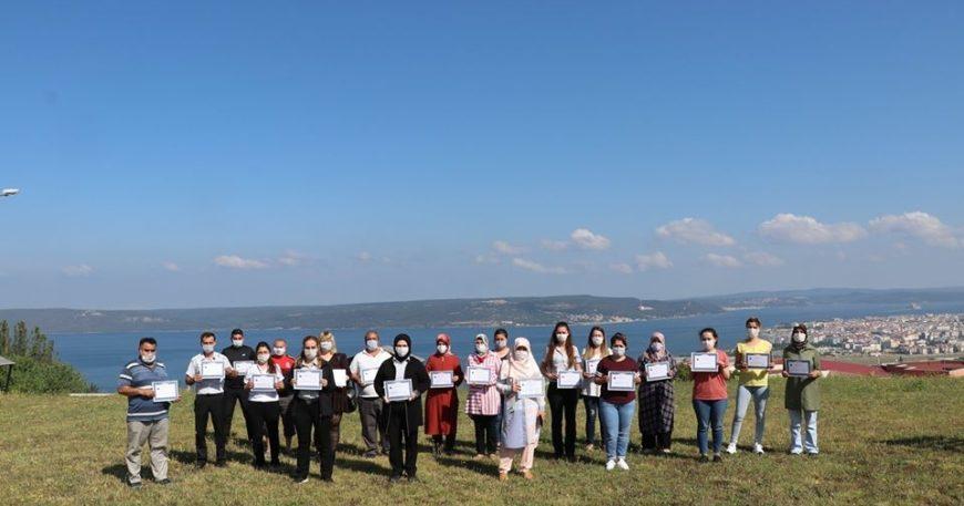 KYK Kız Yurdu personellerine teşekkür belgesi verildi